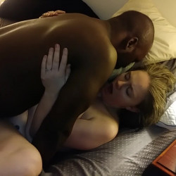 Wife BBC Creampie Cuckold Hubby Goes Next For Sloppy Seconds Cumlube